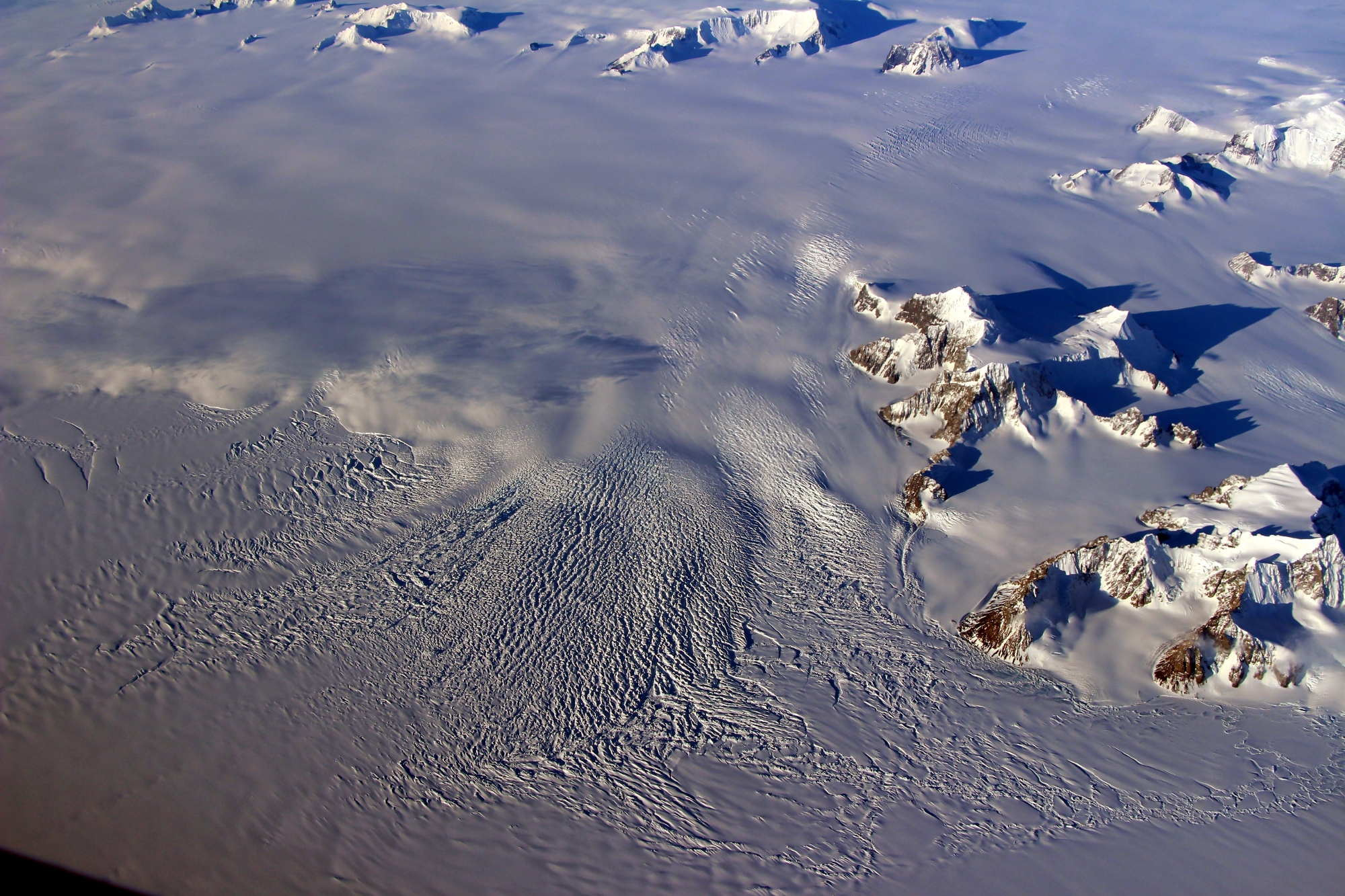 Operation IceBridge reveals further Antarctic ice loss, a new report from NASA shows in a series of disturbing photos from the 8th annual Antarctic survey.
