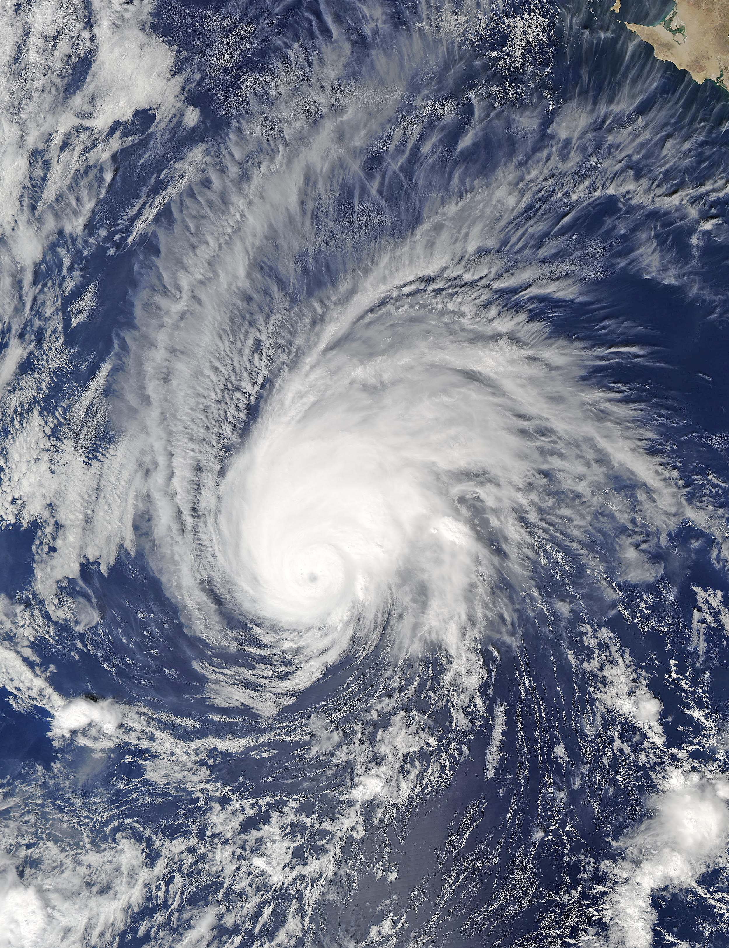 Hurricane Seymour in the eastern Pacific Ocean