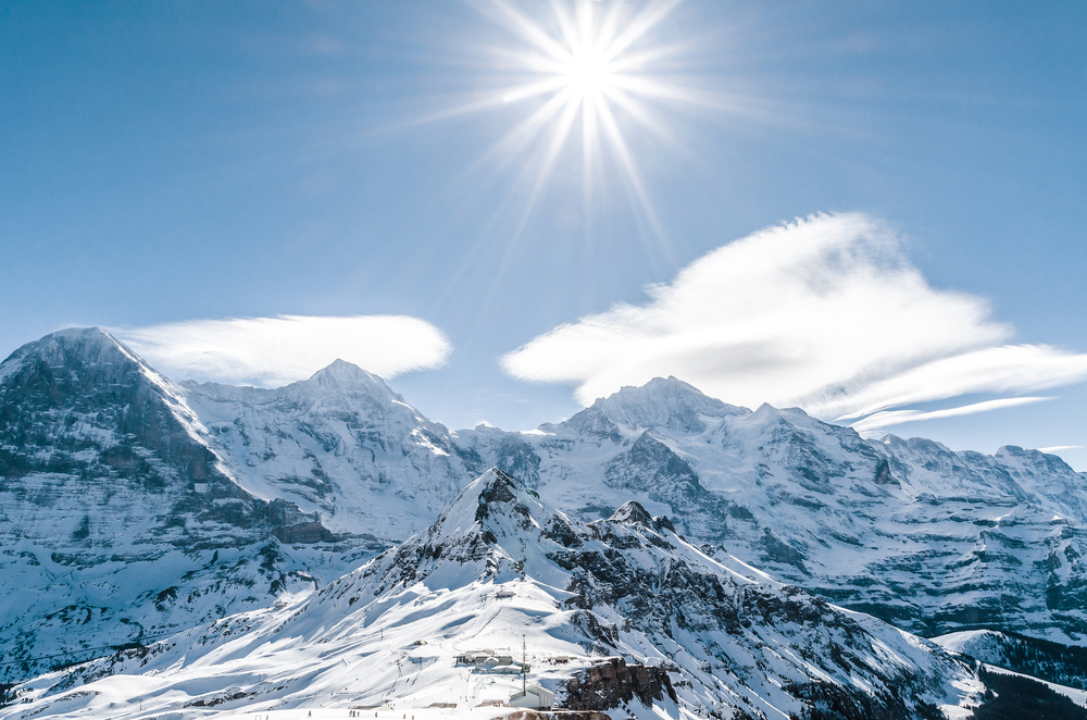 The Alps are growing at a rate of one to two millimeters every year, and it could be the due to the effects of melting ice – from 18,000 years ago.