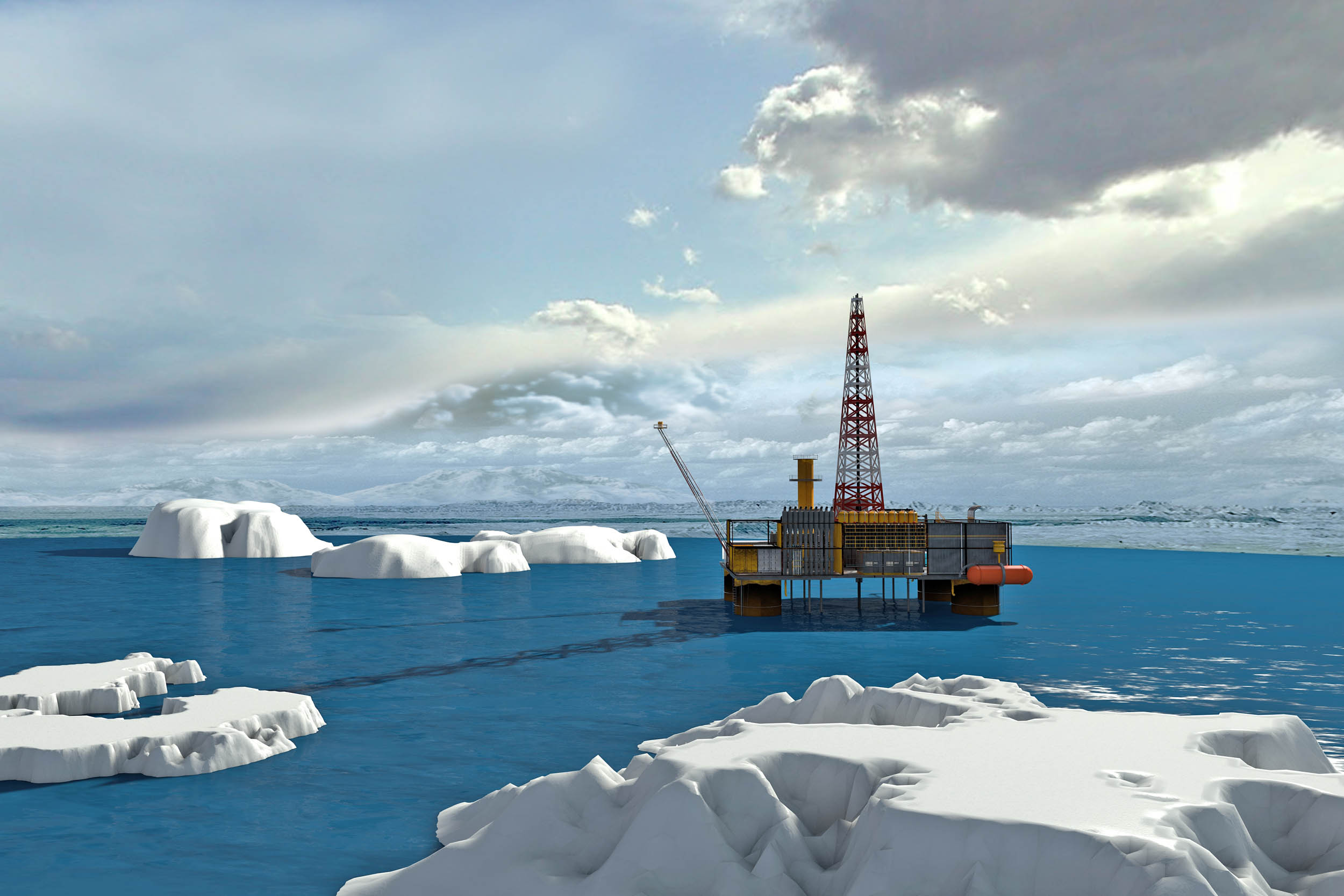 Obama administration blocks new oil and gas drilling in the Arctic Ocean