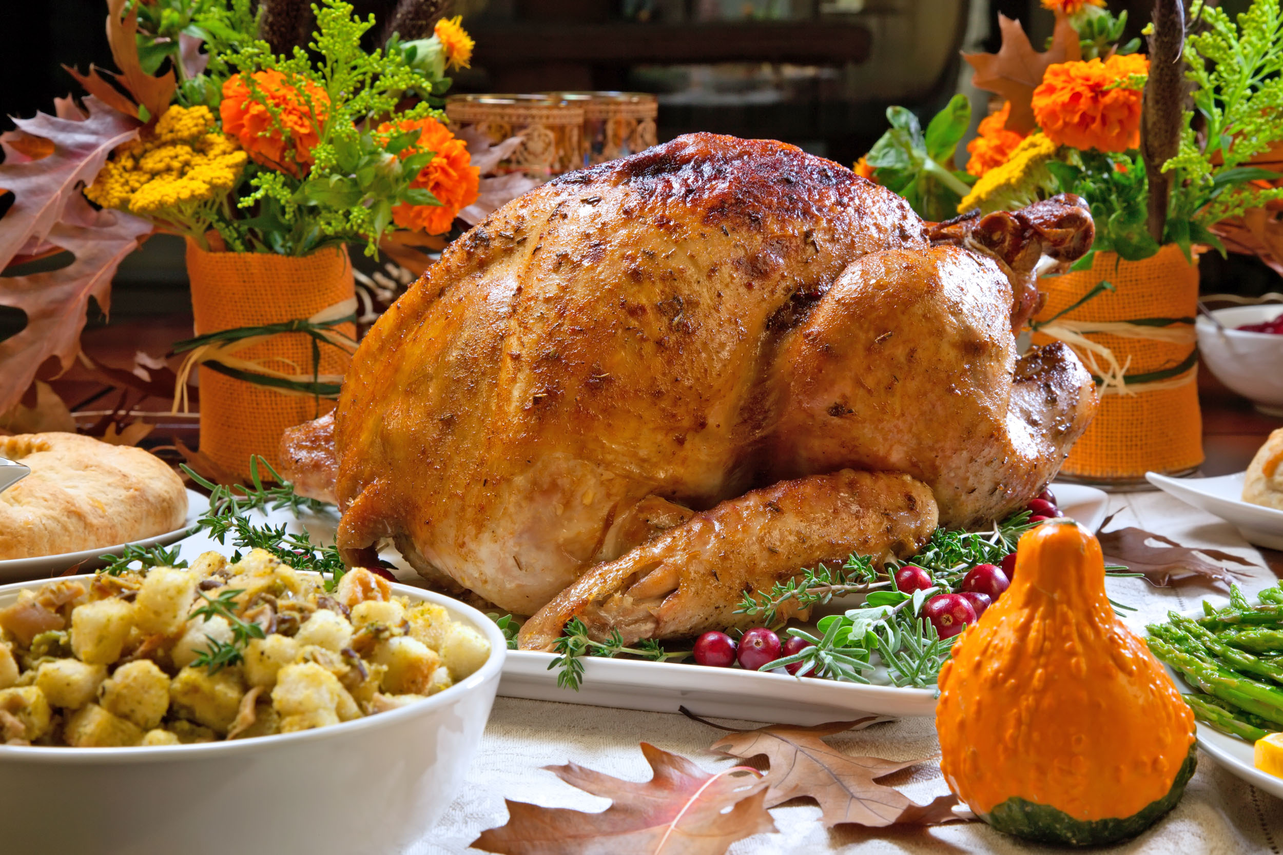 The lowest Thanksgiving dinner carbon footprint was in Vermont, where the average feast produced only 0.2 pounds of carbon dioxide. In second and third place were Washington state, with 8.1 pounds of CO2, and Idaho, with 9.2.