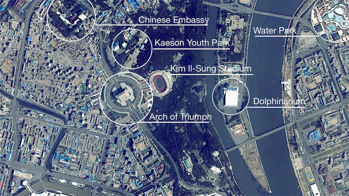 UrtheCast takes us on a tour of North Korea.