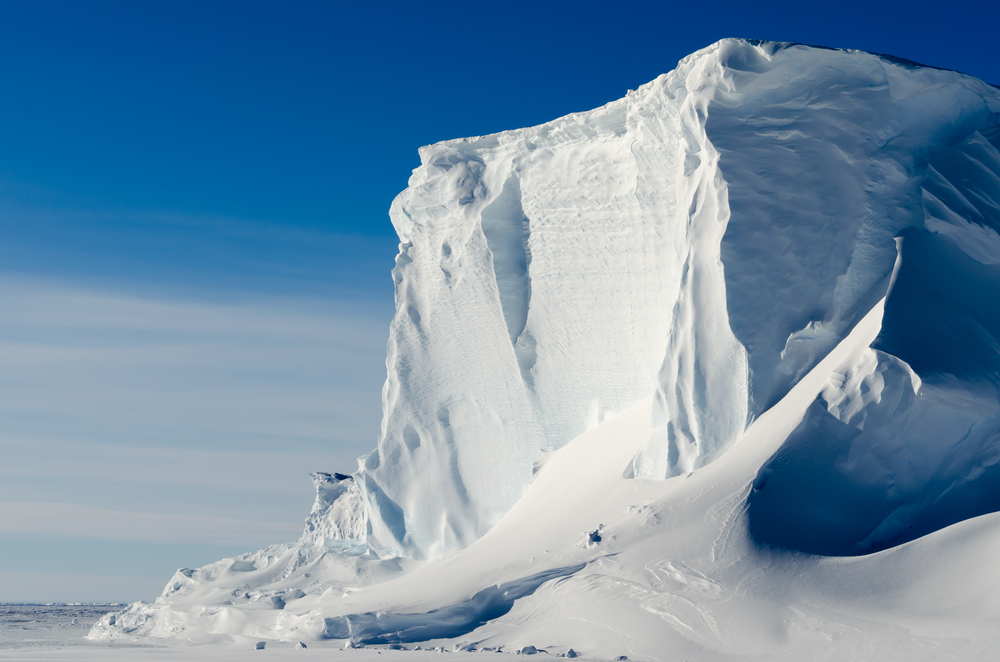 The Larsen C Ice Shelf, part of the larger Antarctic Ice Shelf, has developed a massive rift that could create an iceberg the size of Delaware.
