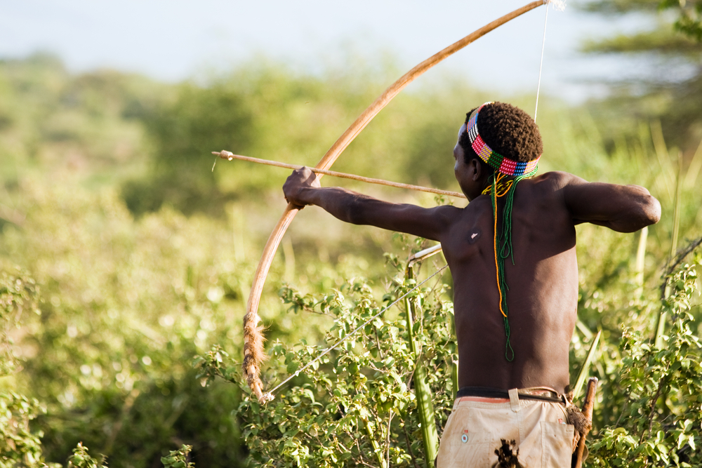There are still modern hunter gatherer societies: the Hadza of Tanzania, the Tsimine of Bolivia, the San of Namibia, the Pirahã of Brazil.
