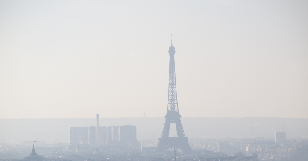 The Paris pollution problem culprit is tiny particulate matter that has filled the air, creating a brown haze that blankets the city.