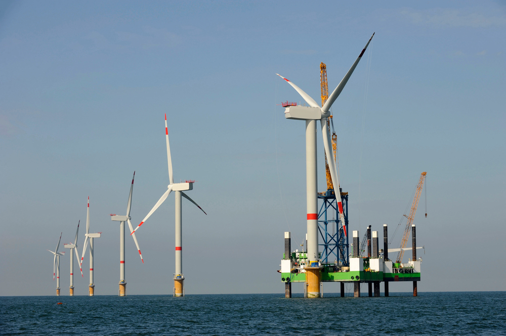 The very first U.S. offshore wind farm to supply energy to the American power grid has opened just three nautical miles off the coast of Rhode Island.