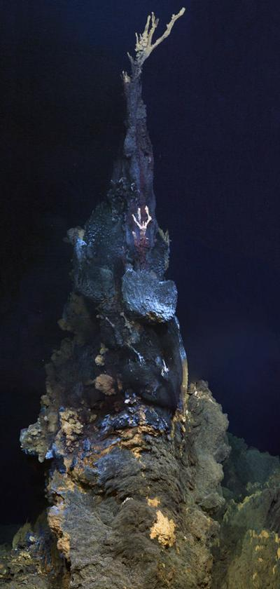 The high-temperature mineral chimney 'Jabberwocky'