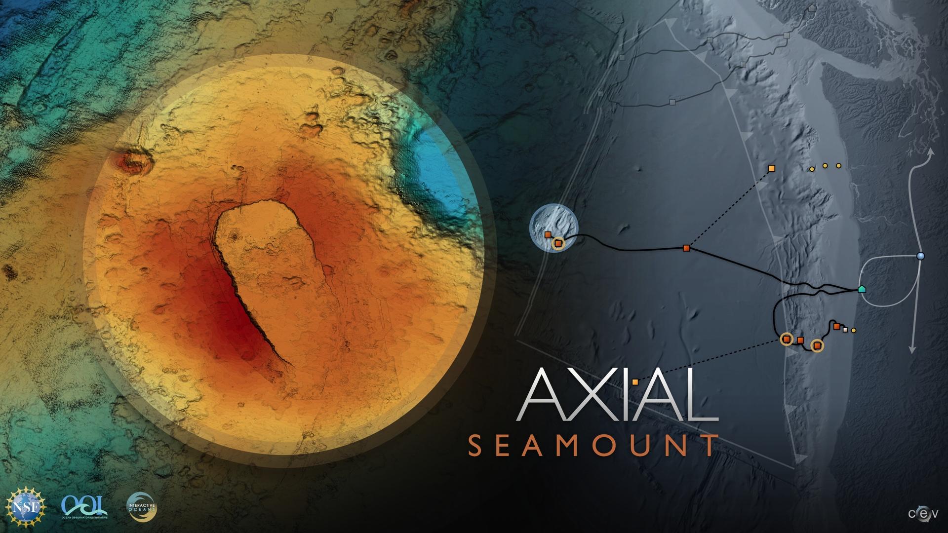 Axial Seamount undersea volcano