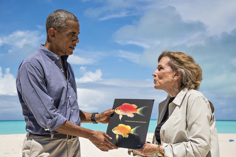 Tosanoides obama : New fish species named after President Barack Obama