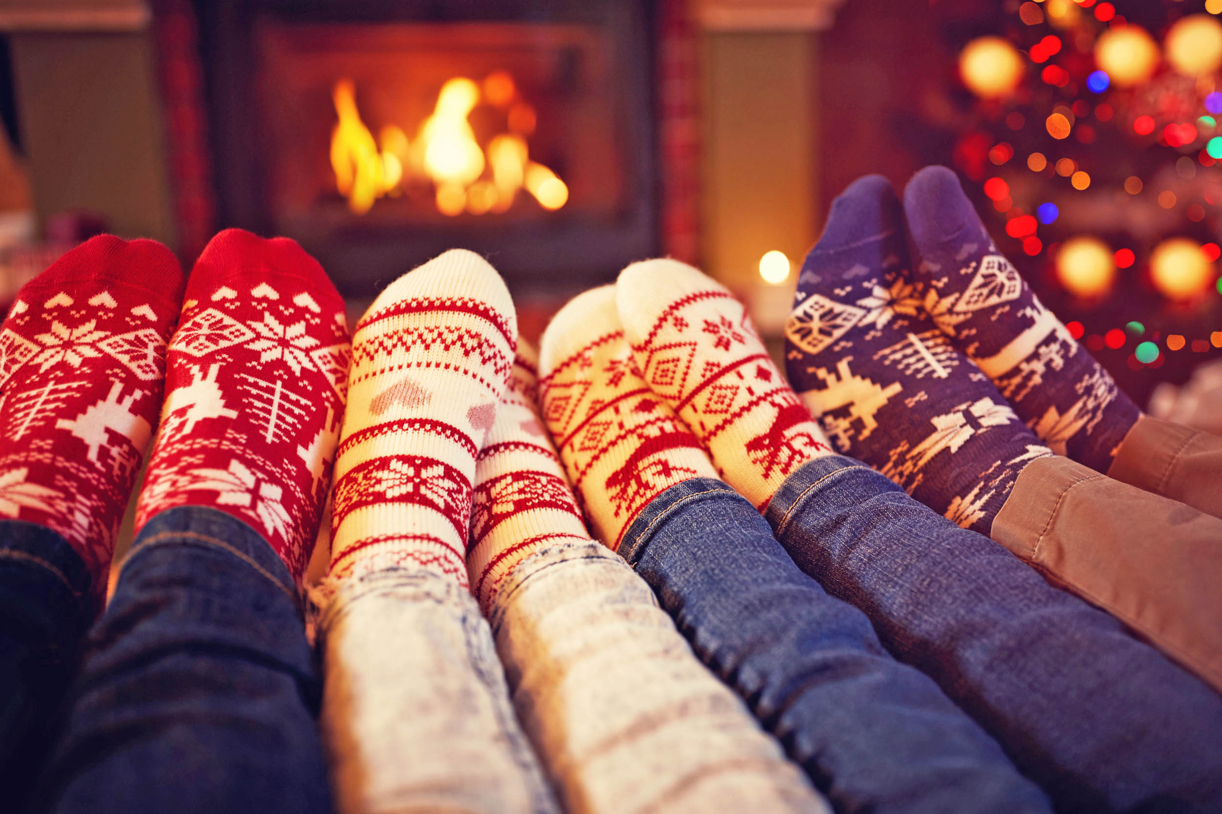 Christmas socks in your stocking are harming the environment