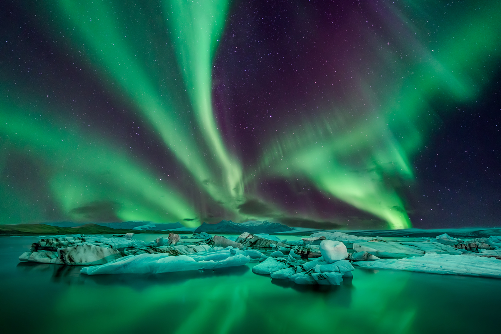 The Northern Lights are one of countless natural wonders found in Iceland.