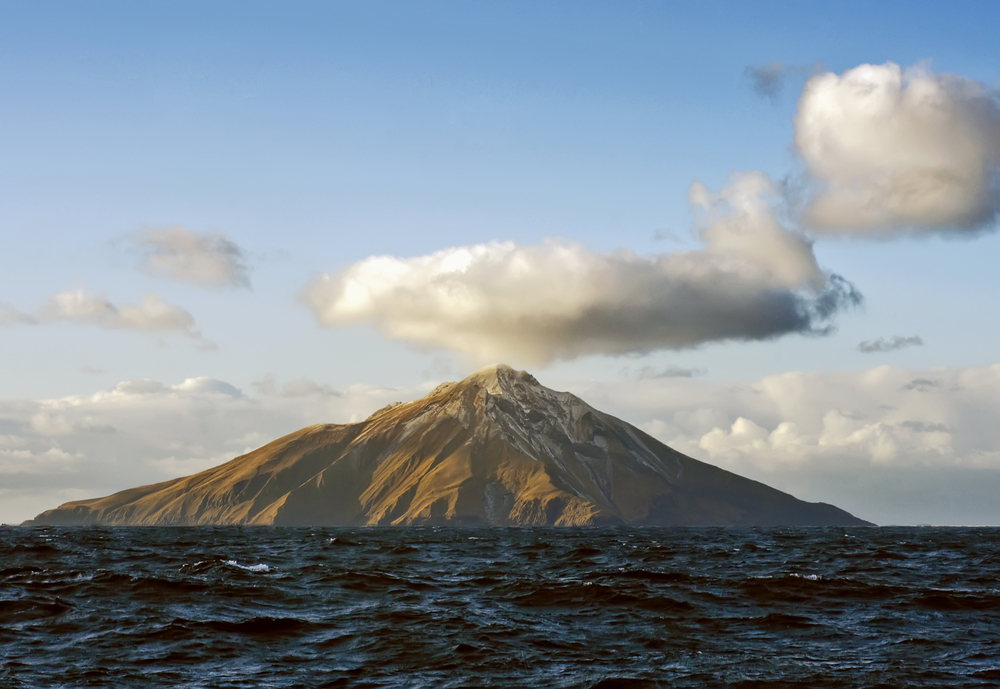 A remote Alaskan volcano has been erupting since mid-December, but seems to be quieting down, scientists said.