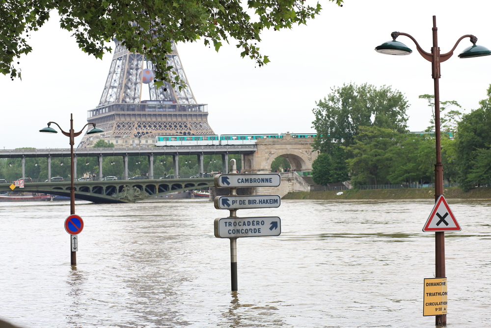 Paris was flooded by days of heavy rains in June 2016. A new scientific field, attribution science, linked the event to worldwide climate change, according to Oxford University's Dr. Friederike Otto.