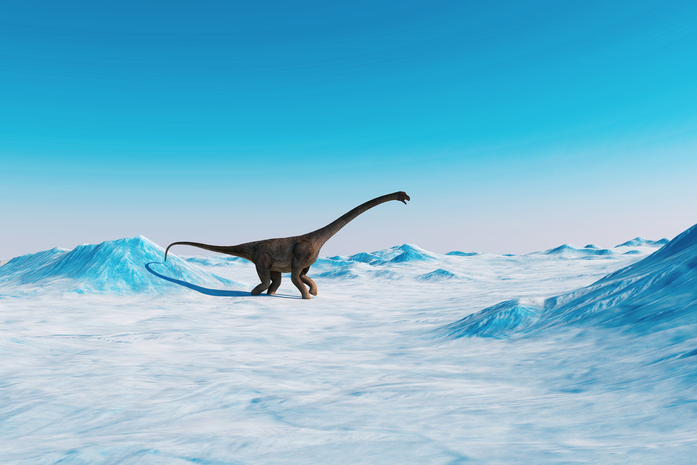 A team of researchers says global cooling caused by a massive asteroid strike may have done in the dinosaurs.