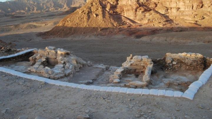 The dry conditions of Timna Valley in the Israeli desert have impressively preserved a military fortification that dates back to the 10th century BCE.