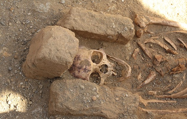 Today's Image of the Day comes from an archeological excavation site in Sudan researchers have found four ancient monk cemeteries from 1,000 years ago.
