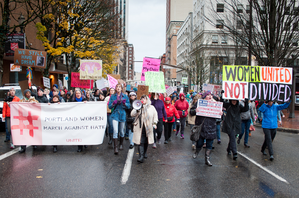 A group of scientists and researchers were greeted with enthusiasm from the crowd when they appeared at the Womens March on Saturday.