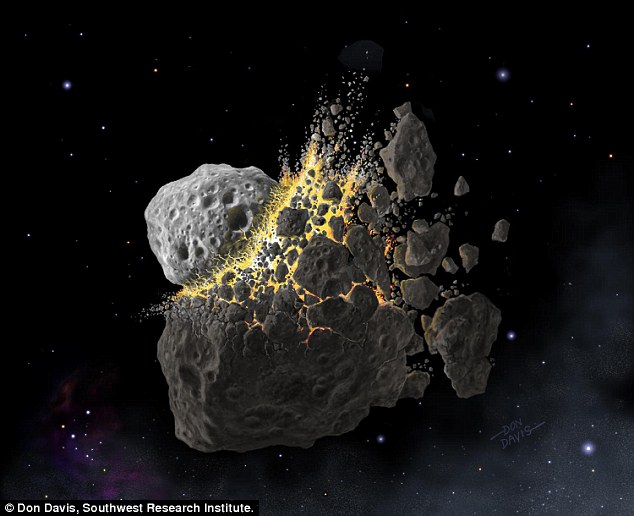 Meteorites that fell on Earth 466 million years ago were likely from a shattered asteroid, according to a new study.