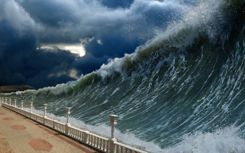 Scientists are developing a way to use deep-ocean sound waves to reduce the height of tsunamis along with their potential damage.