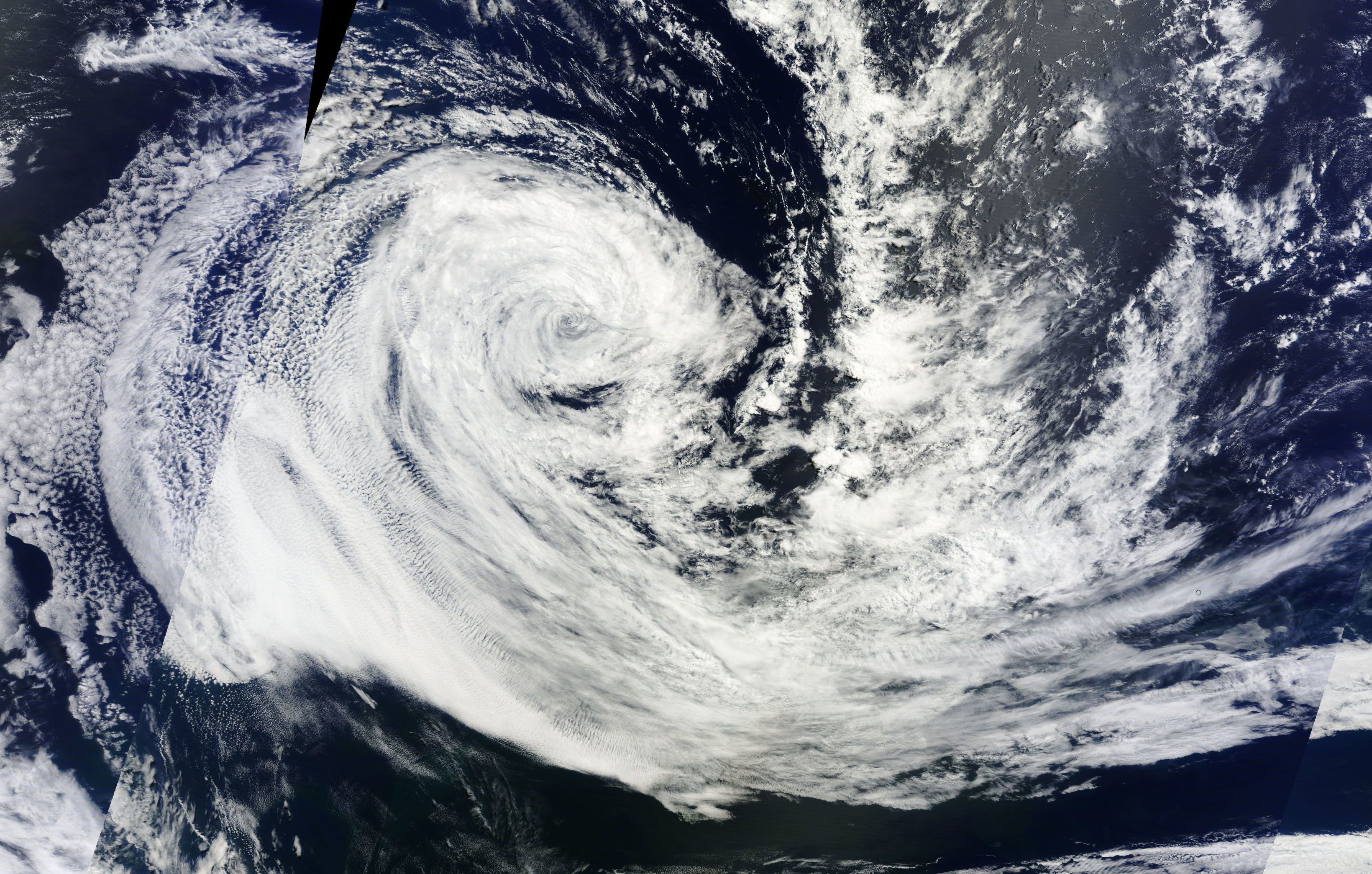 Today's Image of the Day comes thanks to NASA's Terra satellite and features Tropical Cyclone Carlos off the eastern coast of Madagascar.