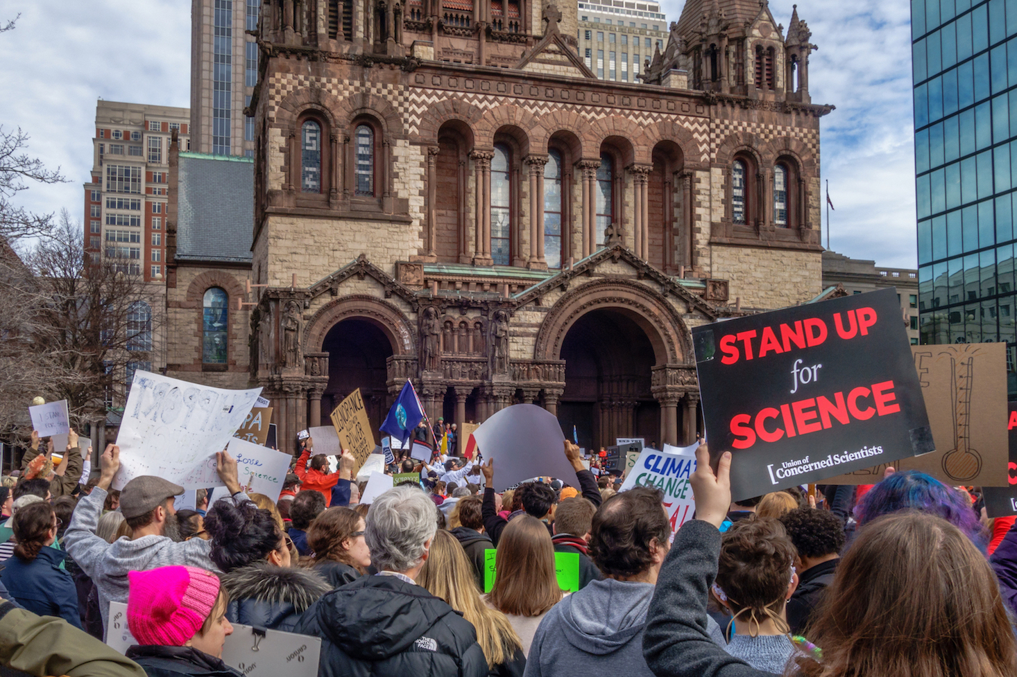 "After a barrage of ""alternative facts"" and orders from the Trump administration, scientists have had enough and have taken to the streets in protest."