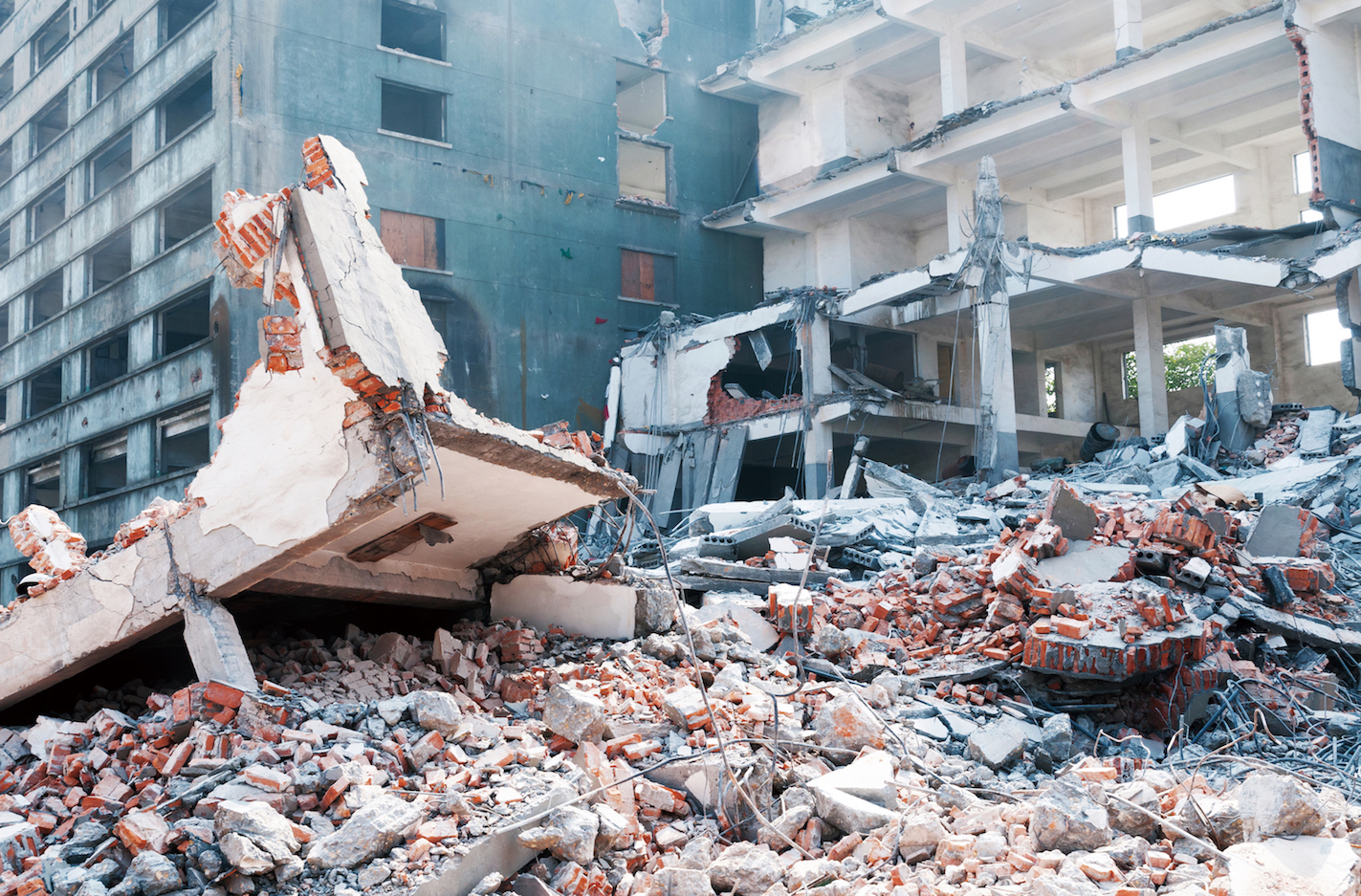 Often times, the real tragedy after an earthquake is that better communications and response might have reduced the body count considerably.