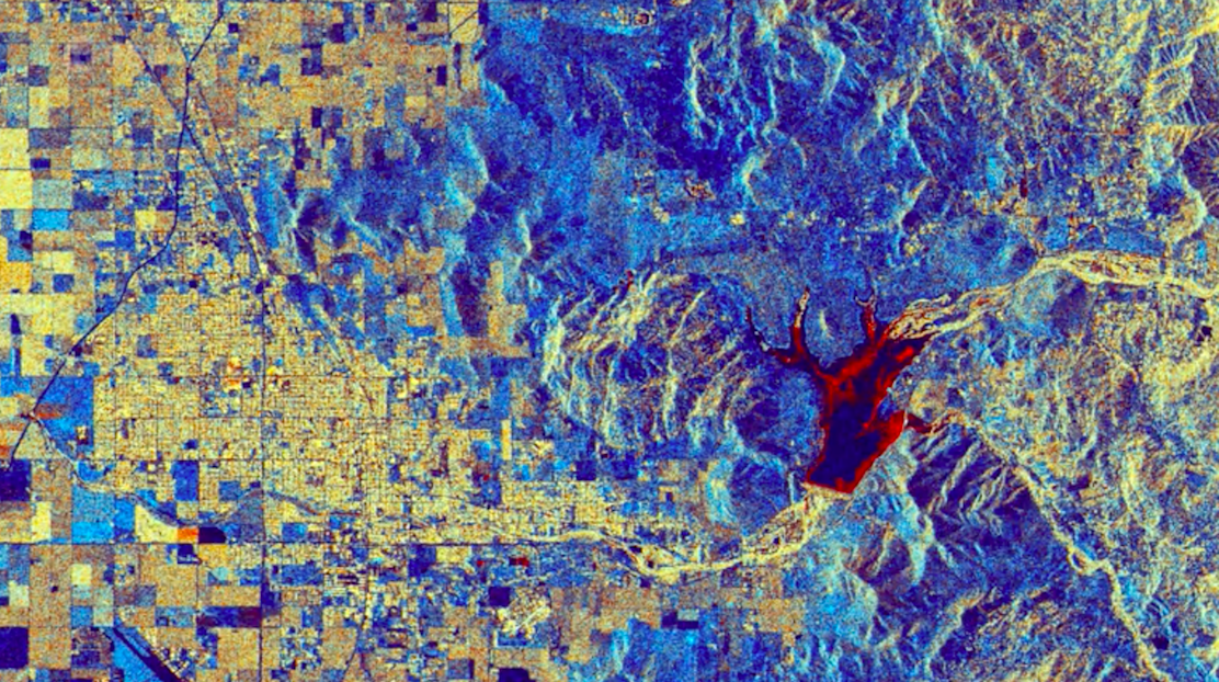 Today's Video of the Day features a look at the waters of California's Lake Success, as viewed from the Sentinel-1 satellite.
