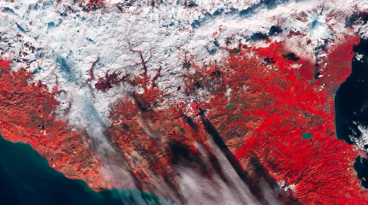 Today's Video of the Day comes thanks to the ESA's Earth from Space series and features an incredible view of the snow covered mountains of Sicily.