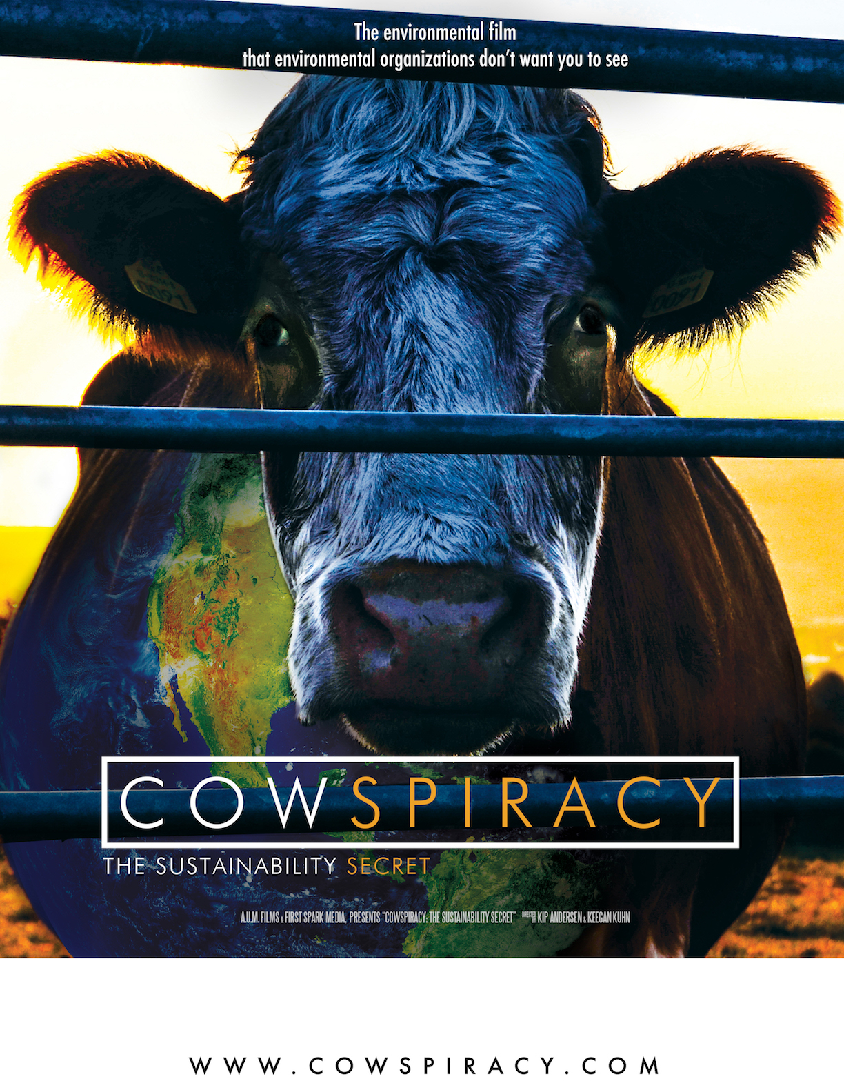Cowspiracy offers a powerful and provocative indictment of animal agriculture as the number one global cause of carbon emissions into the atmosphere.