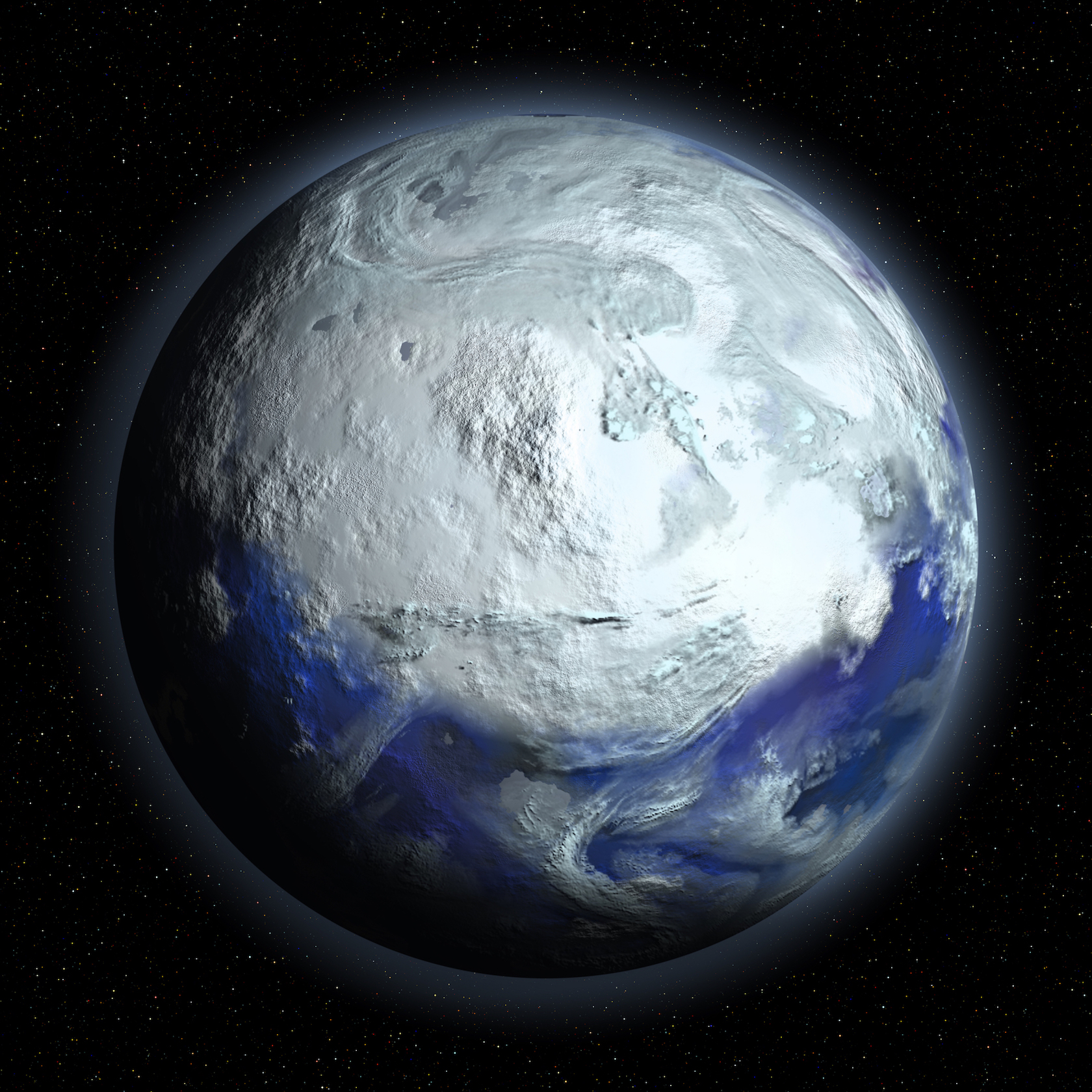 A sudden pole-to-pole freeze known as Snowball Earth stemmed from violent volcanic activity in modern day Greenland and Alaska.