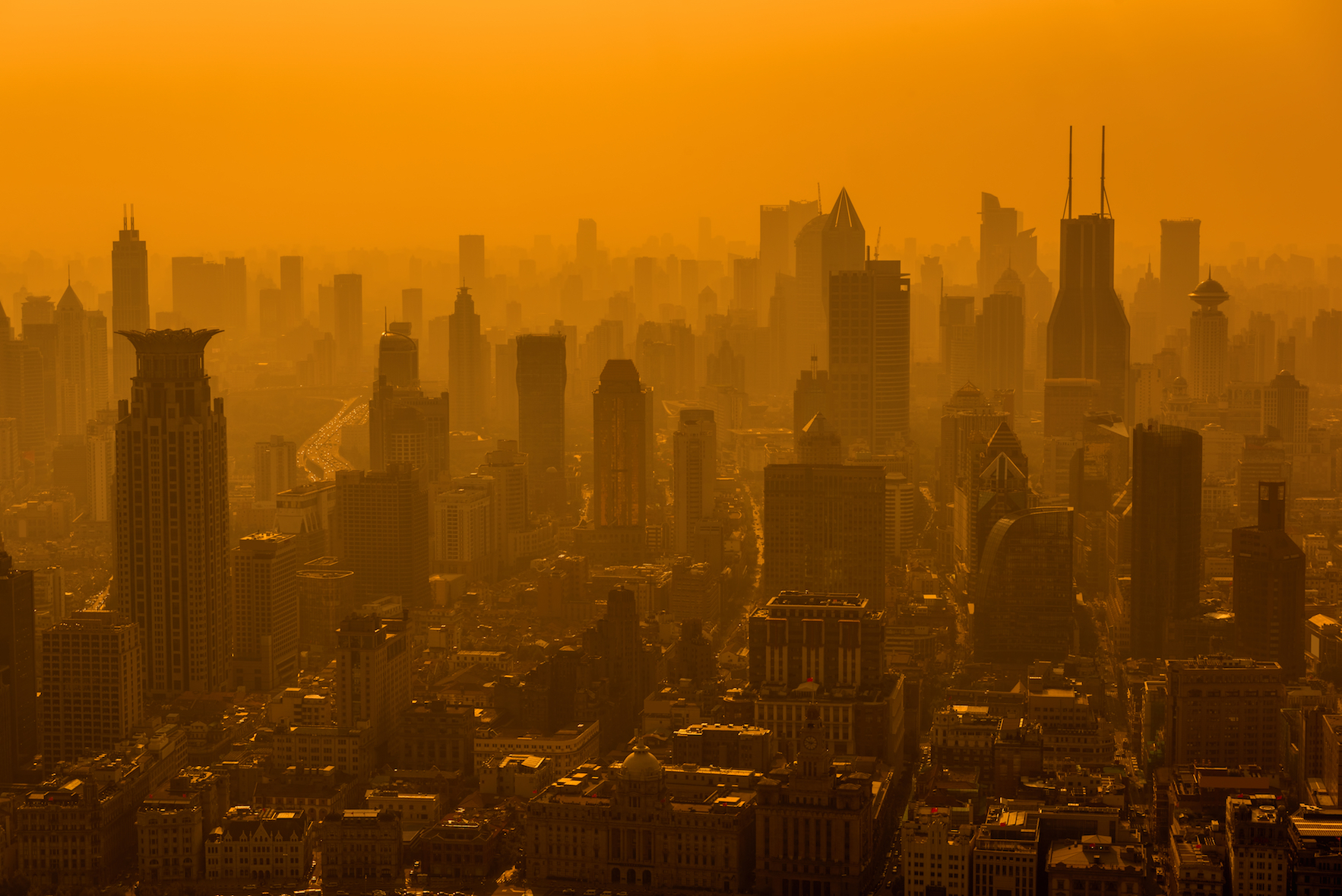 According to a new study, global climate change is responsible for worsening the impact of pollution in China, causing a thick winter haze of smog.