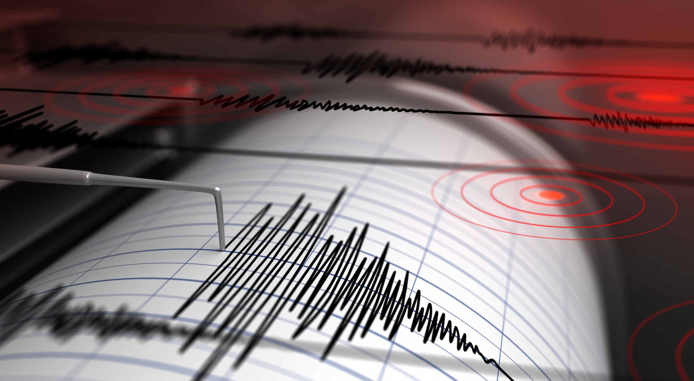 The after-effects of an earthquake observed through seismic readings are not necessarily the same as when observed by orbiting satellites.