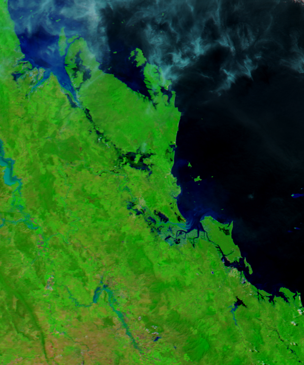 Today's Image of the Day features a look at the damaging flooding in Queensland, Australia this past week, caused by Cyclone Debbie.