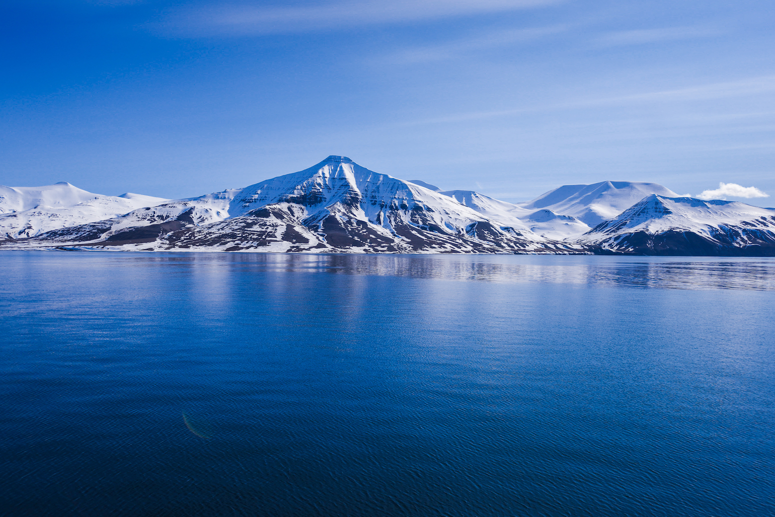 A study has shown that the eastern Arctic Ocean is becoming more like the Atlantic Ocean as a result of sea ice melting due to climate change.