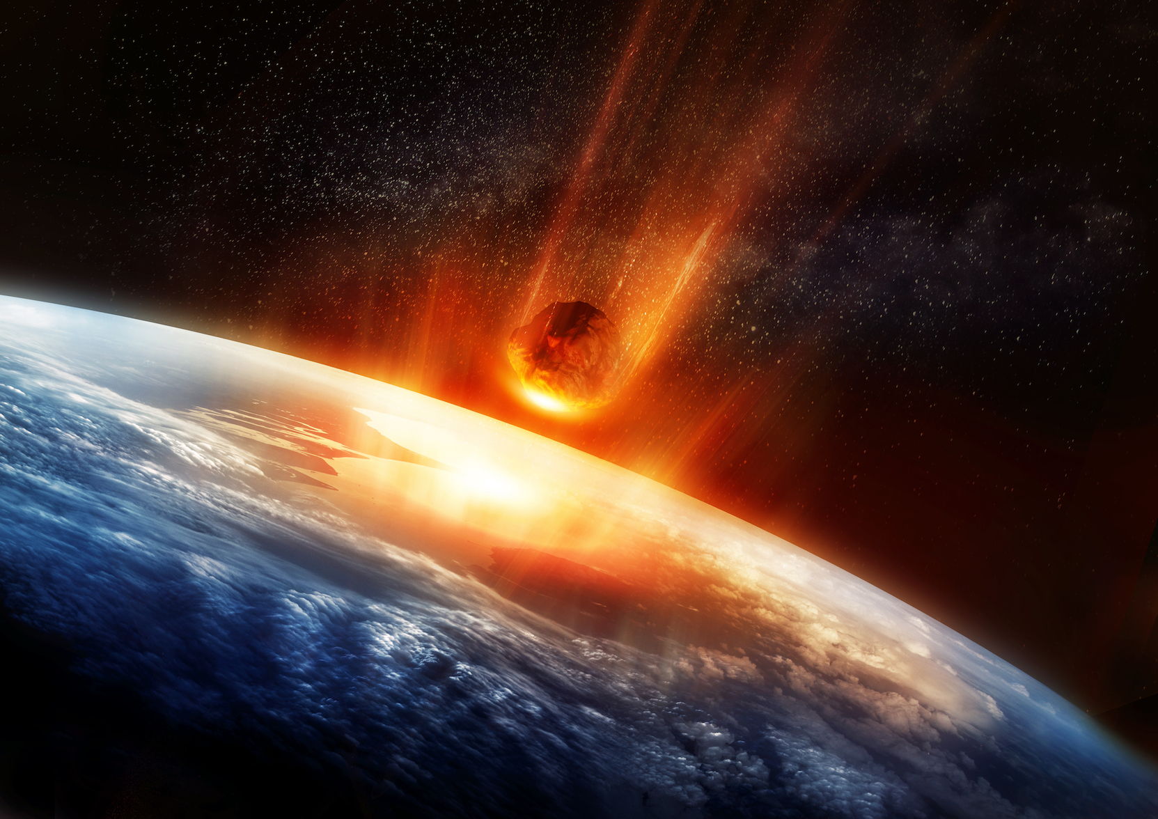 Wind blasts and shock waves would inflict the most casualties if an asteroid hit the earth, according to a new study.