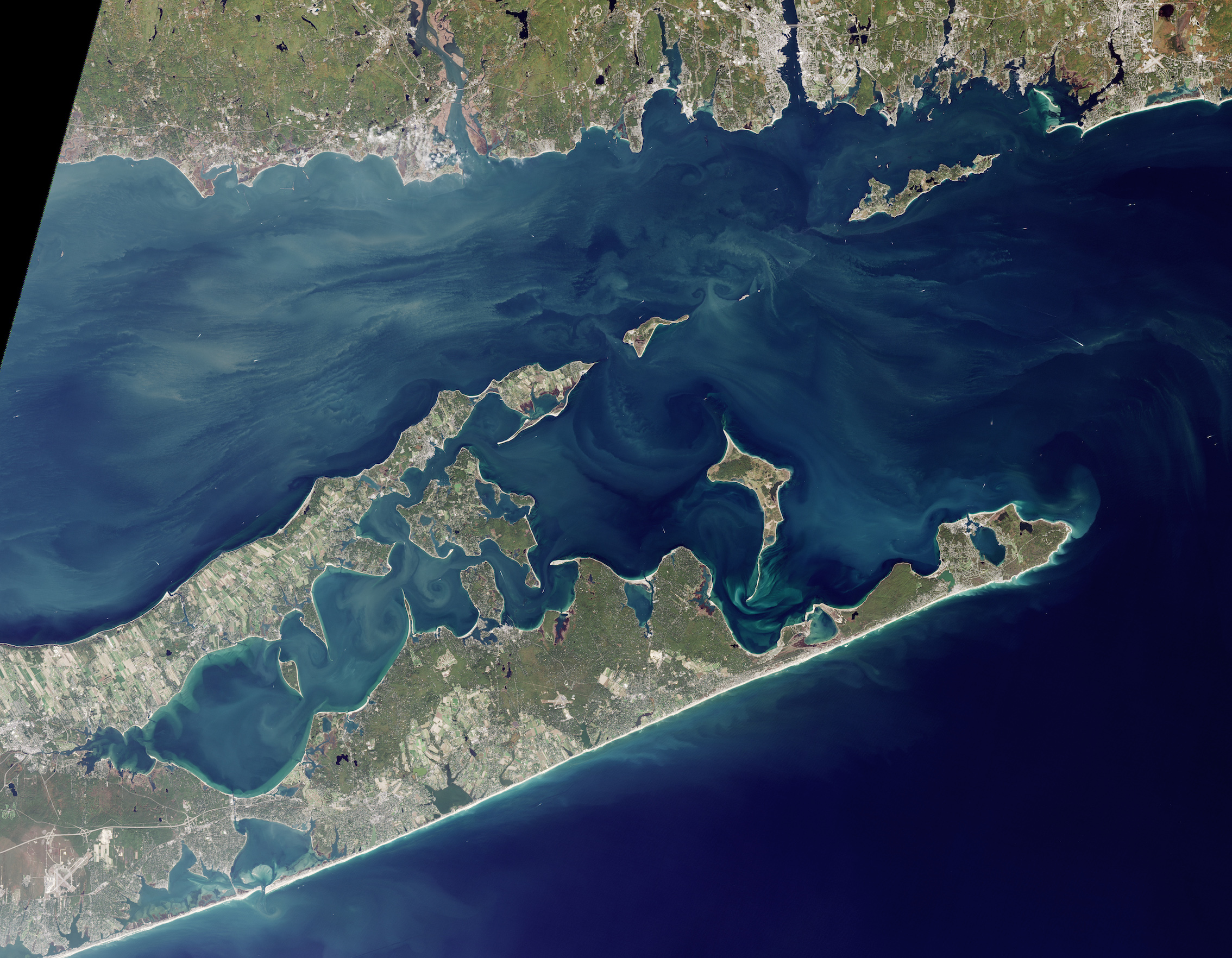 Today's Image of the Day comes thanks to the NASA Earth Observatory and features a look at how Long Island was carved out by glaciers.