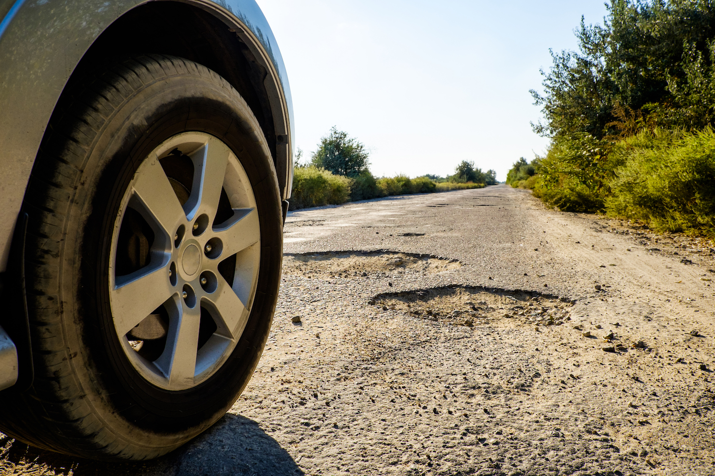 Scientists are working on the ultimate fix for potholes: a self-healing asphalt that uses a special bacteria to fill cracks