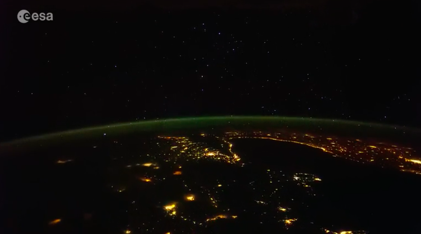 Today's Video of the Day comes thanks to European Space Agency and features a breathtaking look at the stars and city lights on Earth at night.