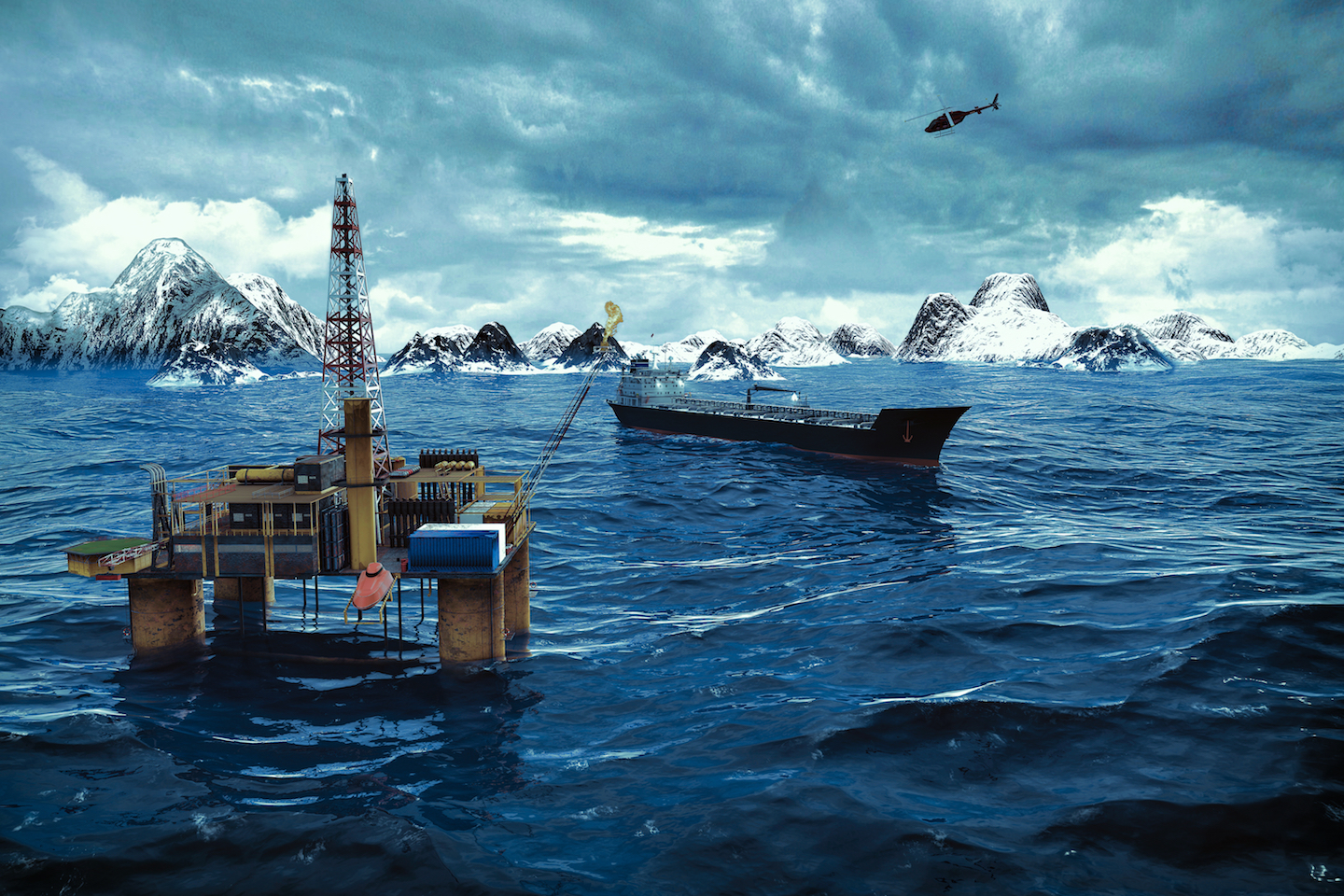 High-level officials from eight Arctic nations are meeting in Alaska as the Arctic Council amid Trump's call for more oil drilling.