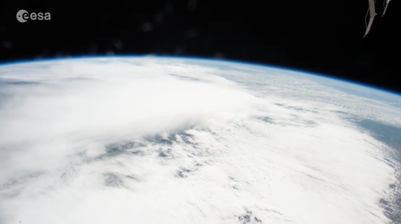 Today's Video of the Day features images of a cloudy Earth as captured by ESA astronaut Thomas Pesquet on board the International Space Station.
