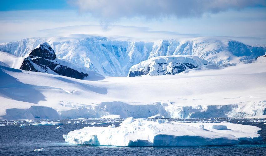 """Land height could be a """"game changer"""" in explaining why temperatures are rising much faster in the Arctic compared to the Antarctic."""