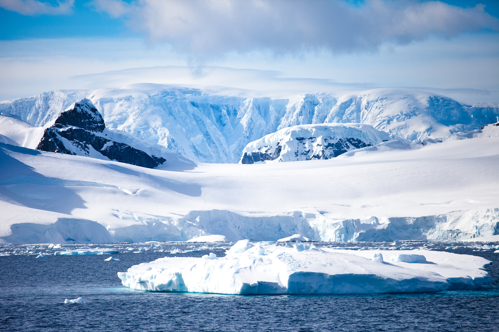 "Land height could be a ""game changer"" in explaining why temperatures are rising much faster in the Arctic compared to the Antarctic."