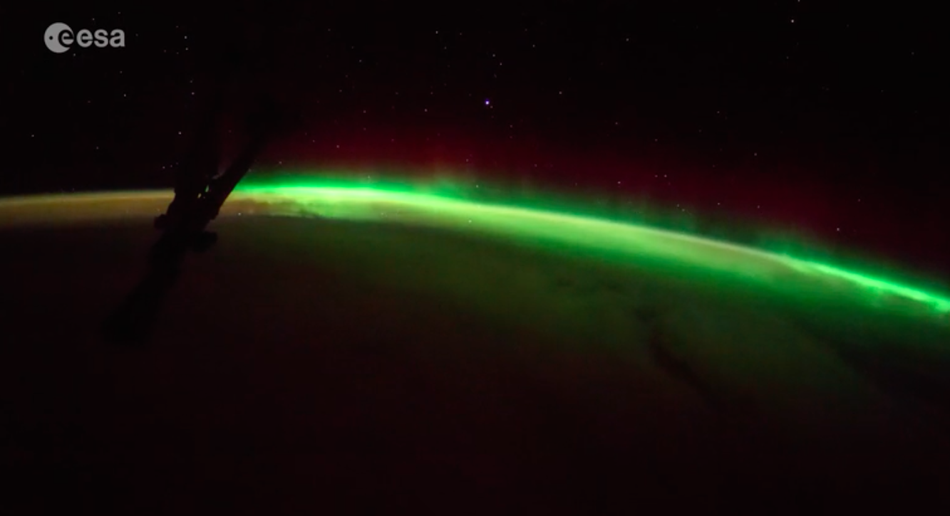 sunrise from international space station - photo #41