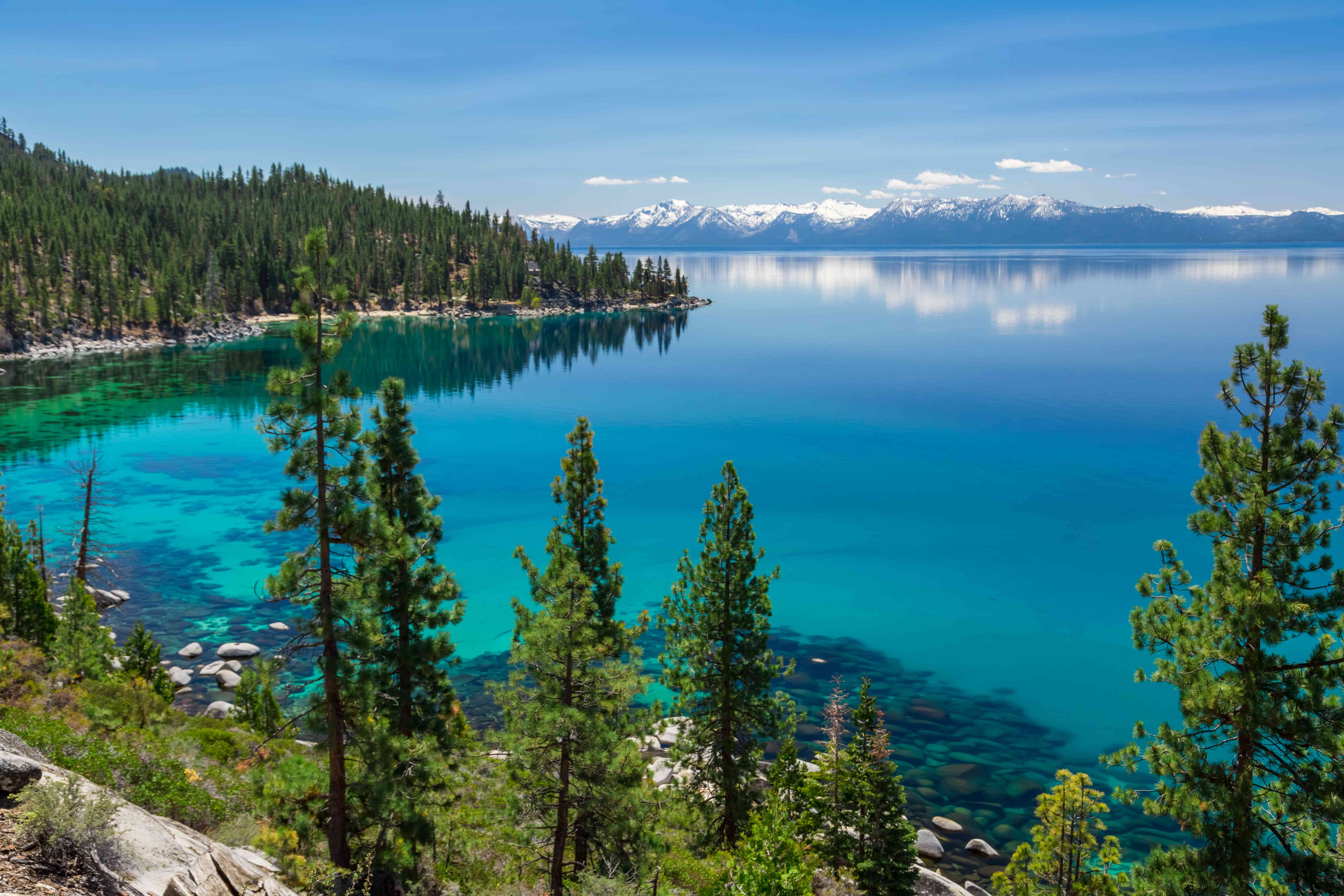 Climate change has caused Lake Tahoe to warm earlier in the springtime, resulting in much cloudier waters.