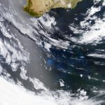 Today's Image of the Day comes thanks to the NASA Earth Observatory and features a look at spirals of plankton in the southeastern Indian Ocean.