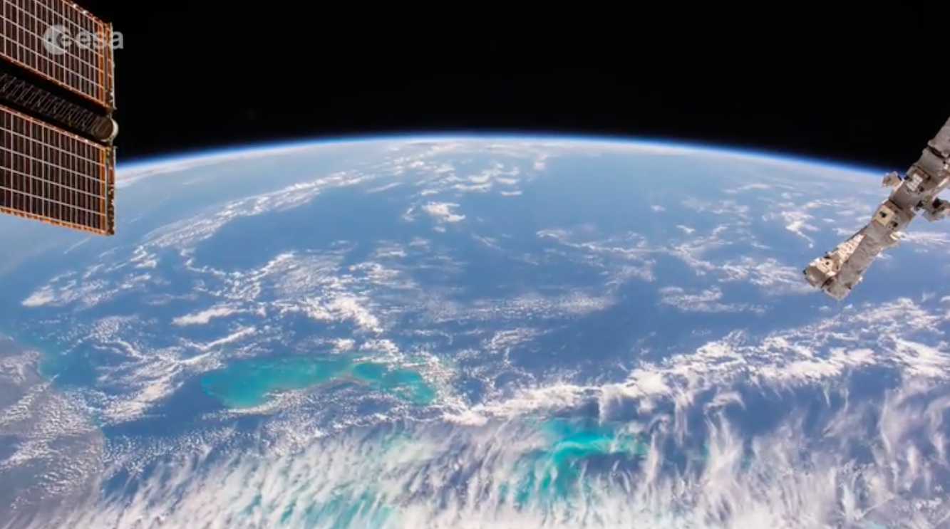 Today's Video of the Day comes from ESA's Earth From Space series and features a look at the Bahamas under a day of cloud cover.