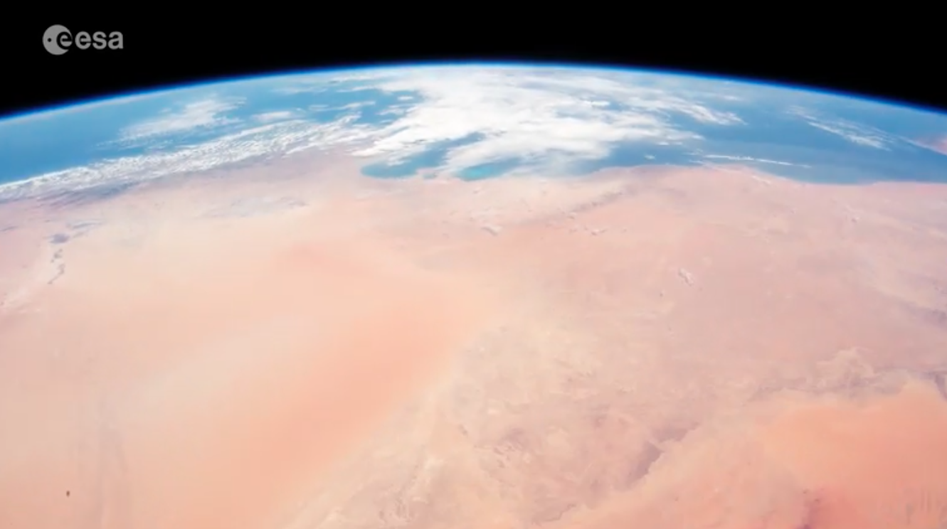 Today's Video of the Day comes from ESA's Space in Videos series and features a look at how much of Earth is covered in desert, water, and cloud cover.
