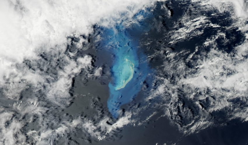 Today's Image of the Day comes thanks to the NASA Earth Observatory and features a look at the Cargados Carajos Shoals in the southwest Indian Ocean.