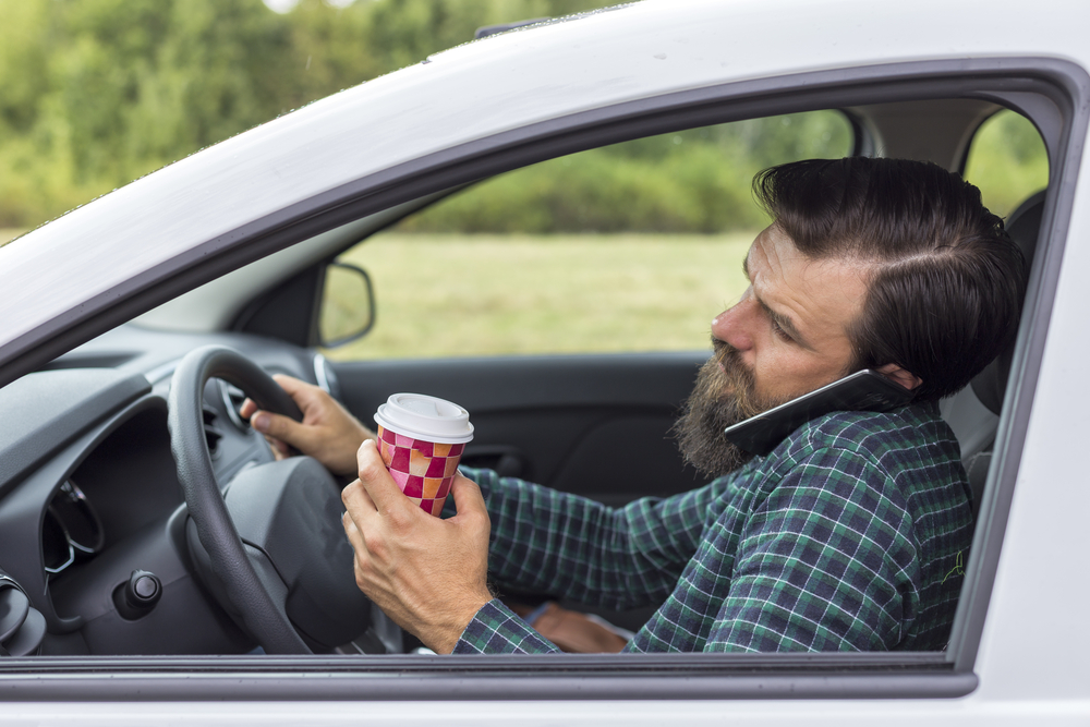 A new study finds that distracted driving may go beyond just cellphones.