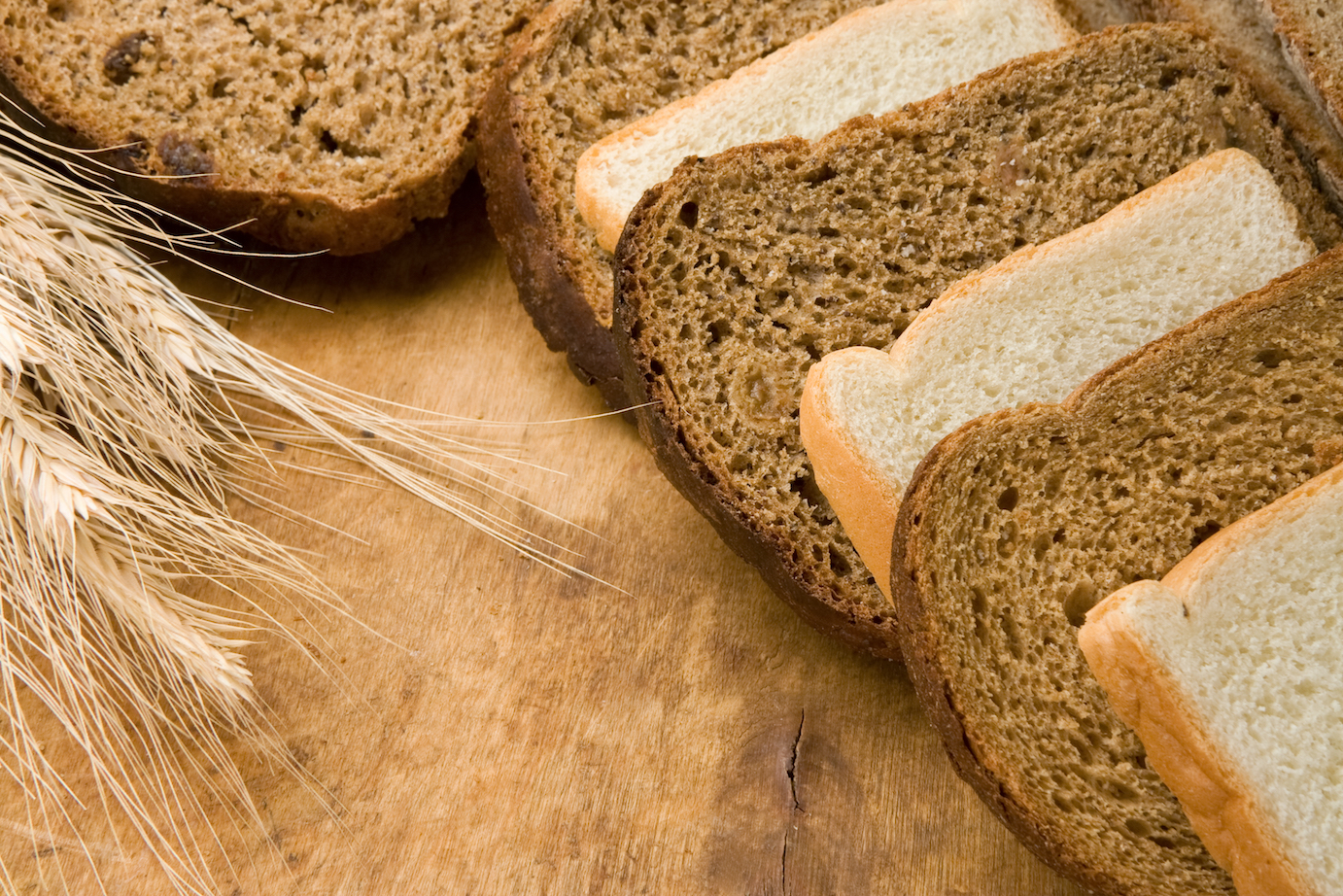 An emerging study analyzes the health value of white bread versus wheat bread, and the effect these types of bread have on the microbiome.